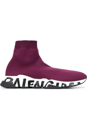 Balenciaga Speed Graffiti high-top sneakers