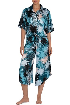 Midnight Bakery Izzy 2 Pc. Printed Cropped Pajamas Set