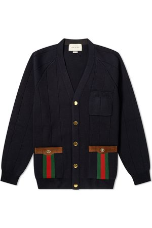 Gucci Web Knitted Cardigan