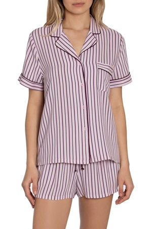 Jonquil Women's Beautiful Dreamer Stripe Short Pajamas