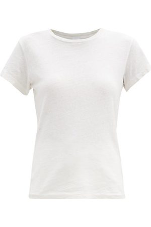 RE/DONE 1960s Cotton-jersey T-shirt - Womens - Ivory