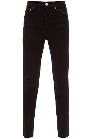 RE/DONE Women High Waisted - High-rise Cropped Jeans - Womens