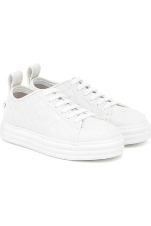 Fendi Promenade FF leather sneakers