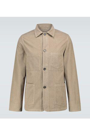 OFFICINE GENERALE Corduroy chore jacket