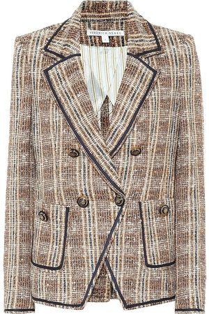 VERONICA BEARD Theron checked tweed blazer