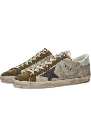 Golden Goose Superstar Leather Mesh Sneaker