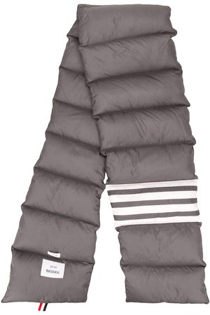 Thom Browne Padded 4-Bar scarf - Grey