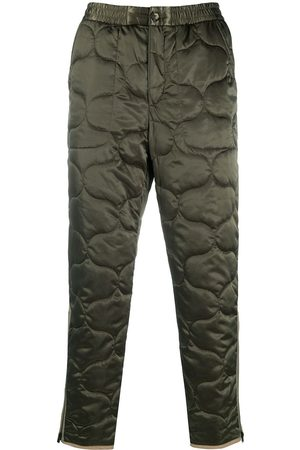 Kenzo Quilted track pants with zip