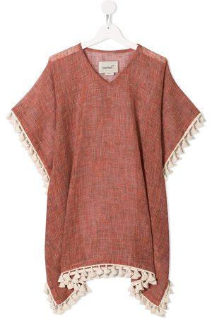 Little Bambah Girls Casual Dresses - Haya tassle kaftan dress