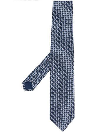 Salvatore Ferragamo Men Bow Ties - Pointed silk tie