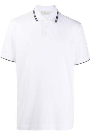 Z Zegna Logo polo T-shirt