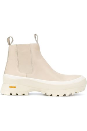 Jil Sander Leather ankle boots - Neutrals