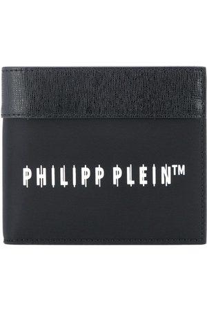 Philipp Plein Men Wallets - Logo-print bifold wallet