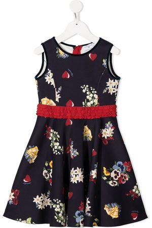 MONNALISA Floral-print midi dress