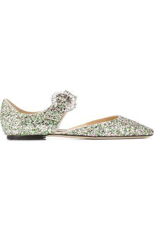 Jimmy Choo Gina ballerina shoes