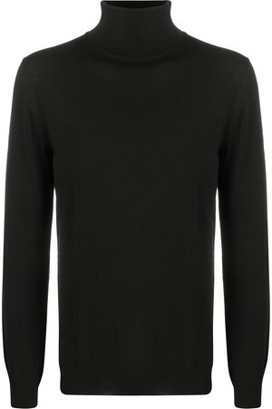 ZANONE Rib-trimmed roll neck jumper
