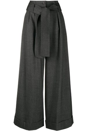P.a.r.o.s.h. Wide-leg tailored trousers - Grey