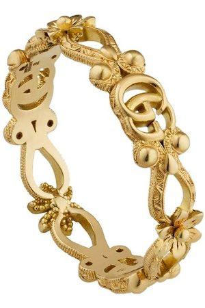 Gucci Women Rings - 18kt yellow diamond Flora ring