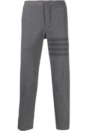 adidas Slim-fit tonal 4-Bar trousers - Grey