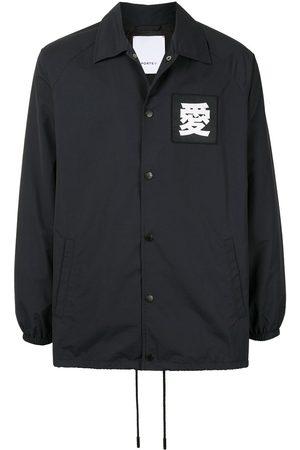 Ports V Long sleeve logo patch coat
