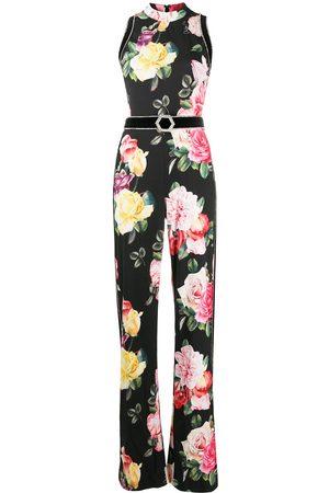 Philipp Plein Selene floral wide-leg jumpsuit
