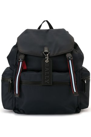 Bally Men Rucksacks - Crew stripe detail backpack