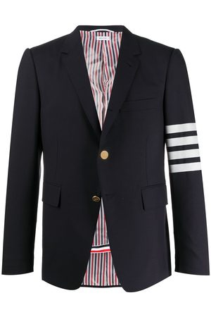 Thom Browne 4-Bar plain weave classic blazer