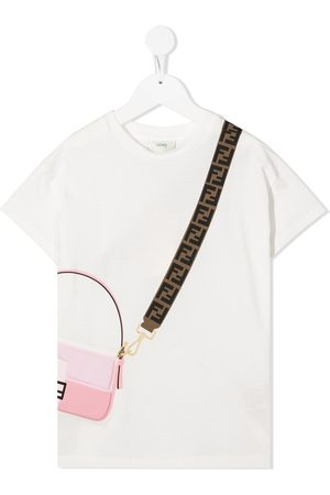 Fendi Crossbody print T-shirt