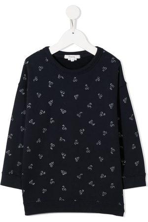 BONPOINT All-over cherry sweatshirt