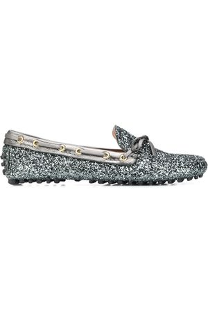 CAR SHOE Glitter driving shoes - Grey