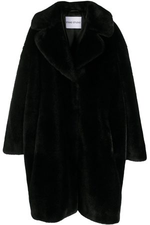 Stand Studio Camille Cocoon teddy style coat