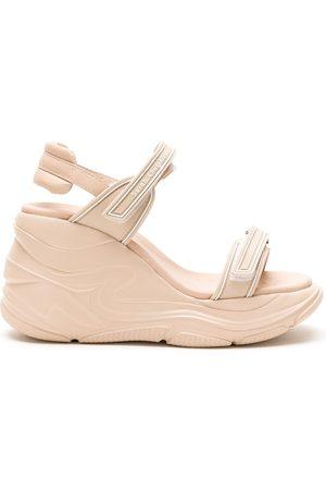 Sarah Chofakian Leather Sarah Comfort sandal - Neutrals