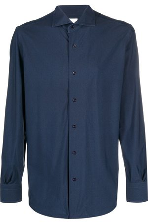 MAZZARELLI Long-sleeve fitted shirt