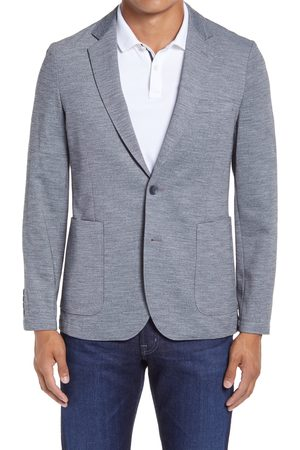 Nordstrom Men's X-Trim Fit Melange Knit Sport Coat