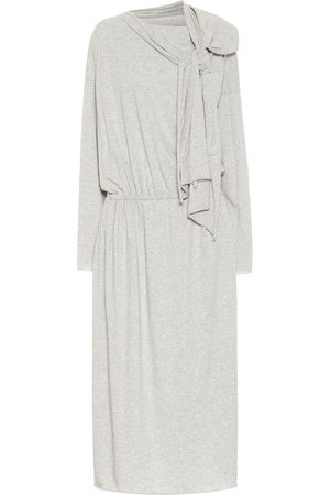 MM6 MAISON MARGIELA Cotton jersey midi dress