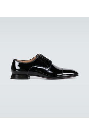 Christian Louboutin Toto patent leather derby