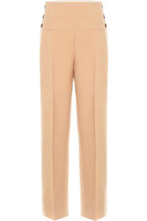 Jil Sander High-rise wool pants