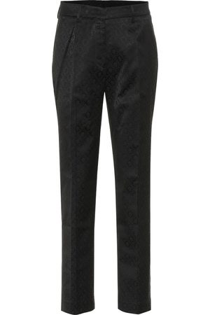Etro Cotton-blend jacquard pants