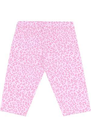 MONNALISA Leopard-print stretch-cotton leggings