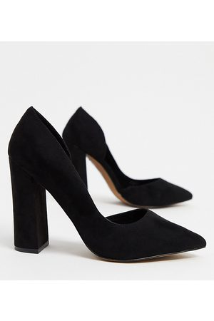 ASOS Wide Fit Walter d'orsay high heels in
