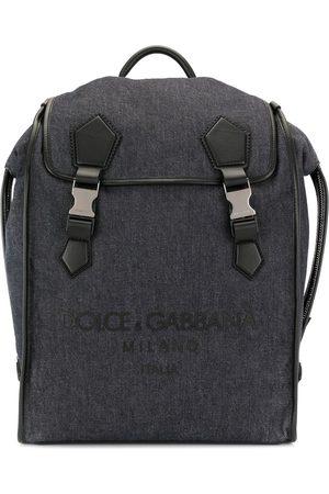 Dolce & Gabbana Men Rucksacks - Logo embossed backpack