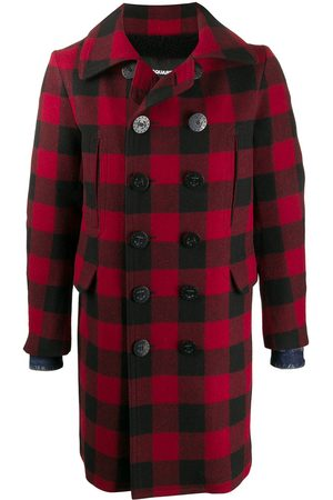 Dsquared2 Checked double-breasted coat