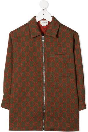Gucci GG Supreme embroidery jacket