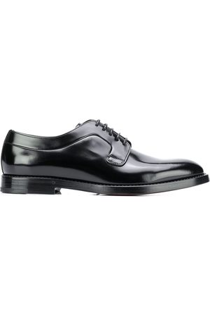 Dolce & Gabbana Brushed leather derby shoes