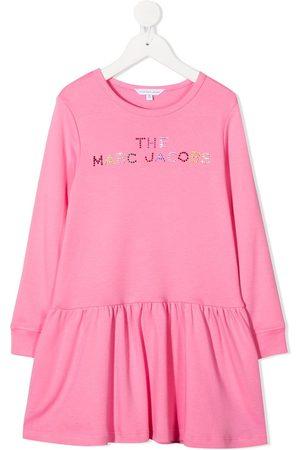 The Marc Jacobs Girls Casual Dresses - Logo embellished shift dress