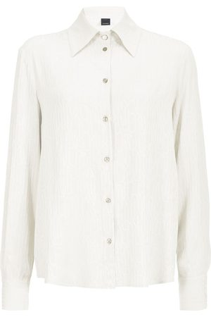 Pinko Crinkled long-sleeve shirt