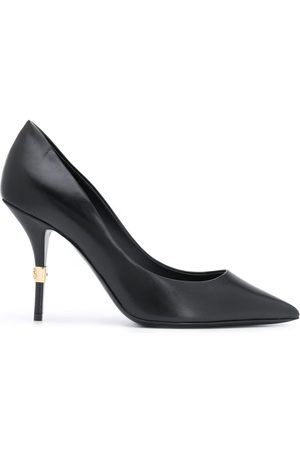 Dolce & Gabbana Logo plaque stiletto pumps