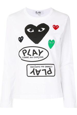 Comme des Garçons Logo print long sleeve t-shirt