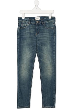 Gucci Skinny-fit washed jeans