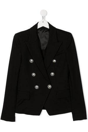 Balmain TEEN double breasted blazer